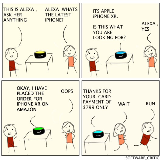 Kids Playing Alexa