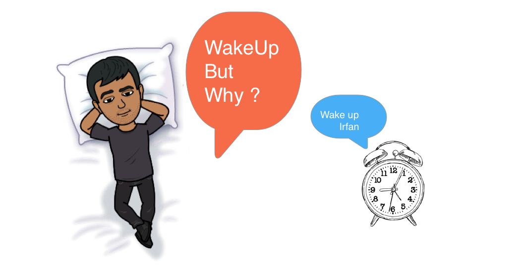 What's your reason to get up in the morning ? feature image